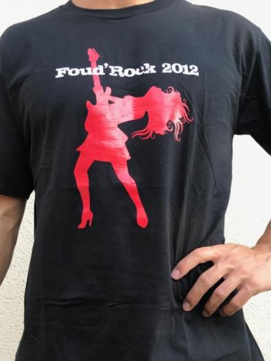 T-shirt festival rock ACME headcharger